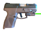 FDE RECHARGEABLE Compact Green Laser Fits All size hand gun sub compact pistol