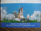 1988 Space Shuttle Discovery 500 Commemorative Coin Republic Marshall Islands