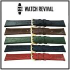 LUXURY CALF LEATHER WATCH STRAP FOR VINTAGE OMEGA, CARTIER, LONGINES 12 to 20MM