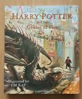 JK ROWLING HARRY POTTER AND THE GOBLET OF FIRE ILLUSTRATED 1ST H B SIGNED
