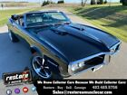 1968 Pontiac Firebird Convertible 400 EFI Auto fully restored Black 1968 Pontiac Firebird Convertible 400 EFI Auto fully restored Black