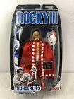 THUNDERLIPS Rocky III 3 Balboa Movie Action Figure Jakks Pacific Hulk Hogan MOC