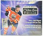 2019 20 UPPER DECK O-PEE-CHEE PLATINUM HOCKEY HOBBY BOX
