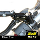 Mirror Extenders Adapters MT03 Logo For Yamaha MT-03 2006-2020 14 15 16 17 18 19