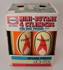 NOS 1970s Primus 4 Boxed Mini Butane Cylinders for Camp Stove Lite Pick up 1
