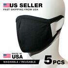 Washable Reusable Mask 5Pcs 100 Cotton Lining Made in USA Ship from USA