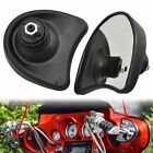 Pair Rearview Fairing Mount Mirrors For Harley Tri Glide Ultra Classic FLHTCUTG