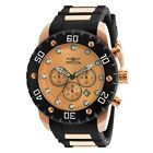Invicta Men's Pro Diver 20281 50mm Rose Gold Dial Chronograph Watch