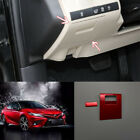 For Toyota Camry 2018 2019 red Main driver locker Decorative frame 2pcs