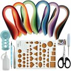 Paper Quilling Kits With 30 Colors 600 Strips And 8 Tools Paper Width3mm Blue