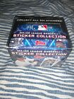 2018 TOPPS MLB STICKERS COLLECTION FACTORY SEALED BOX 50 PACKS 8 per pack