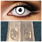 EYE FUSION MANSON WHITE / BLACK Colored Contacts. Cosplay,Costume New