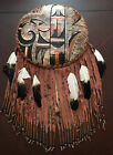 Large Native American Indian Wall Hang Decor Feathers