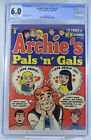 Archies Pals N Gals 1 Annual CGC 60 116 Pages Brilliant colors 1952 53