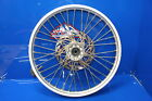 95-97 Ktm 125 250 360 Front Wheel Rim Assembly with Hub Spokes Rotor OEM 21