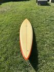 Vintage 1970s Dick Brewer Surfboard 72 Surfing
