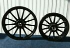 OEM Harley Dyna FXR XL Sportster Black 13 Spoke Mag Wheels  1200 883
