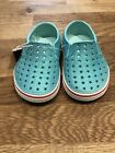 NWT Native Kids Shoes Miles Bling Slip On Shoes Toddler Girls Size 6 C6 Blue