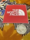 RARE OFFICIAL the north face STICKER vinyl decal outdoor mountain car red jacket