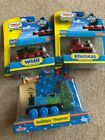 Lot of 3 Thomas and Friends Wooden Railway Holiday Thomas  Rheneas