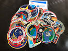 Lot of 26 Nasa Mission Crew Patch Stickers