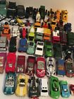 Huge Lot of 54 Mixed Cars Trucks Helicopters Police Farmer Harvester Die cast