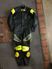 Scott Leathers Motorcycle Road Racing Suit One Piece Track Day Leathers