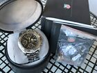 TAG HEUER Link Chronograph CT2111 Automatic Men's Stainless Steel Watch