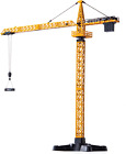 Top Race Metal Diecast Tower Crane Metal Construction Vehicles Model Toy For Kid