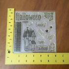 Happy Haunting Halloween House Gate Stamp Set Close to My Heart D1180 My Acrylix