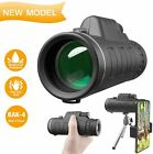 HD Monocular Starscope Phone Camera Zoom Lense with Phone Mount Telescope