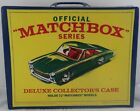 Vintage 1968 Official Matchbox Series Deluxe Collectors Case Holds 72 Cars