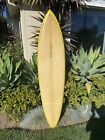 74 Robert August Vintage 1970s Surfboard Lightning Bolt