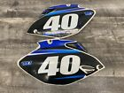 YAMAHA 06-09 YZ250F YZ450F LEFT RIGHT SIDE PANELS FAIRINGS COWLS SET