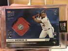 2019 Topps Now Vladimir Guerrero JR Sock Relic 49 #HRD-22A ASG HR DERBY Vladdy
