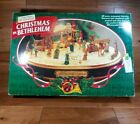 Vintage Mr Christmas Musical CHRISTMAS IN BETHLEHEM Animated Nativity New