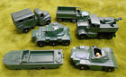 HH LESNEY ARMY MODEL DIECAST VEHICLES SOME BITS MISSING