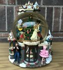 Kirkland Nutcracker Musical Snow Globe with Lights Rotating LARGE