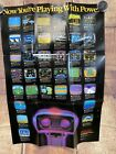 Nintendo NES: Now Your Playing With Power Rob the Robot OFFICIAL INSERT POSTER