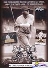 2016 Leaf Babe Ruth Collection FACTORY SEALED Box-20 Packs-Look for AUTOGRAPH!