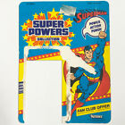 Vintage 1984 Kenner DC Super Powers Superman action figure package card back