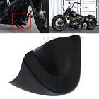 Black Front Chin Spoiler Air Dam Fairing Cover For Harley Dyna Street Bob FXDB