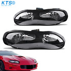 Pair Clear Headlights Headlamps Assembly for 1998 2002 Chevy Camaro Z28 Z28 SS