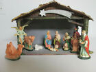 Vintage Christmas Nativity Set