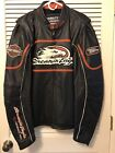 Harley Davidson SCREAMIN EAGLE Leather Jacket Performance Parts 98226 06VM XL