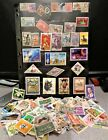 HUGE WORLDWIDE STAMP LOT 500+ used off paper