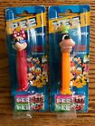 PEZ Retired Minnie Mouse & Goofy Extreme Disney-Mint On Non-U.S. Character Cards