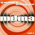 DJ Skribble & Anthony Acid: MDMA CD-Warlock Records 1998-DISK ONLY