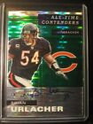 Brian Urlacher 2019 Optic Contenders 27 On Card Auto HOF