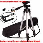 Universal Camera Camcorder Tripod Stand Mount Clip for Canon Nikon Sony Olympus